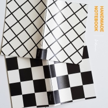 handmade notebook : chequer