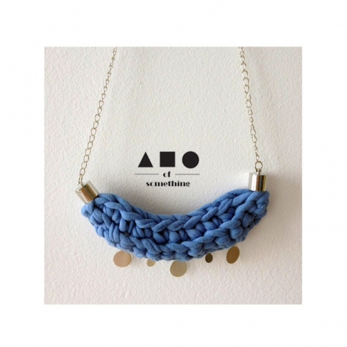 NECKLACE (BLUE) large image 0 by ABCofsomething