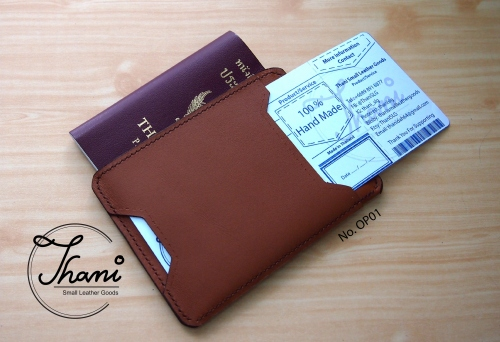 Only Pass Case เคสใส่หนังสือเดินทาง large image 0 by ThaniSmallLeatherGoods