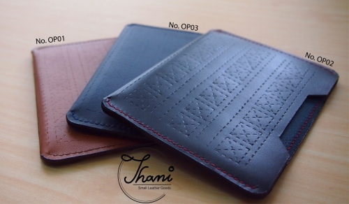 Only Pass Case เคสใส่หนังสือเดินทาง large image 4 by ThaniSmallLeatherGoods