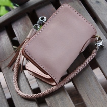 "Middle Long Wallet ""Brilliant"" Hand Made at Blisby"