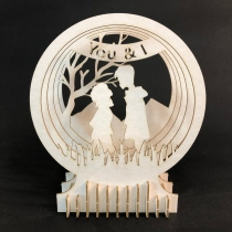 Couple 3D Puzzle  at Blisby