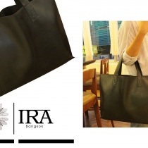 Leather Tote Bag size 30x45 cm at Blisby