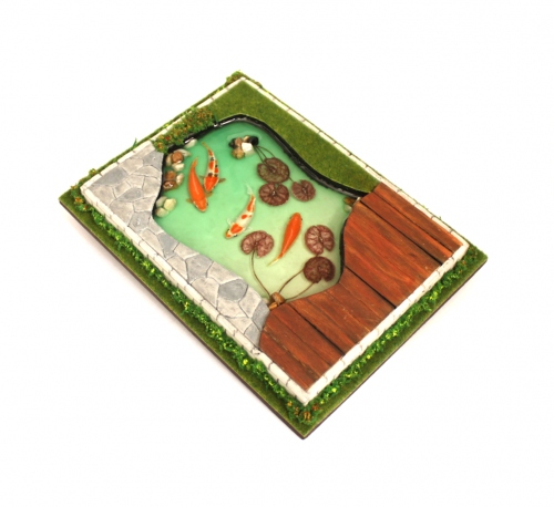 Miniature koi pond large image 0 by Piccolo