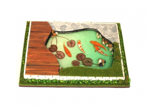 Miniature koi pond large image 1 by Piccolo