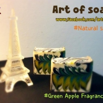 Natural Soap Recipe กลิ่น Green Apple at Blisby