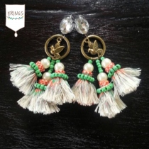 Gypsy Triple Tassel Earring at Blisby