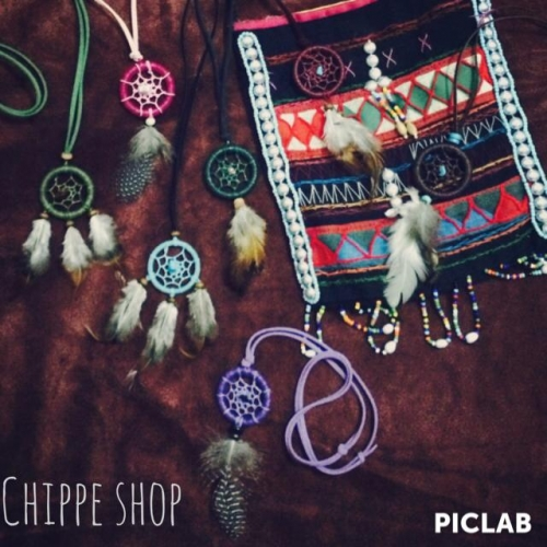 สร้อยคอ Dream catcher chippe large image 0 by RromShop