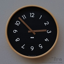 polar wallclock - dark [PW] at Blisby