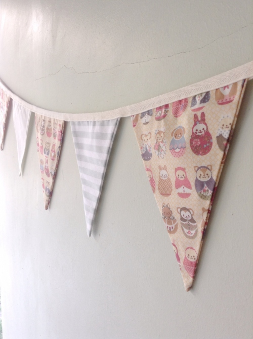 Flags Bunting {Kids rooms/ Russian dolls} large image 1 by HandmadeMania