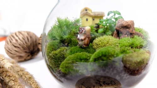 """sphere moss"" large image 3 by puppyleafshop"
