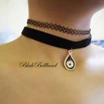 Tattoo Choker Set at Blisby