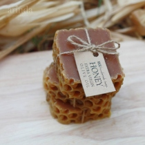 Honey with Extra Virgin Olive Oil Soap | สบู่น้ำมันธรรมชาติ at Blisby