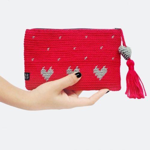 red clutch  large image 0 by Chavala