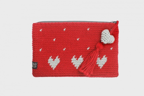 red clutch  large image 2 by Chavala