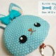 Bunnie key cover [turquoise]
