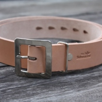 Natural Leather Vegetable Tanned Belt at Blisby