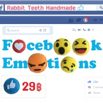 พวงกุญเเจ Facebook Emoticons at Blisby