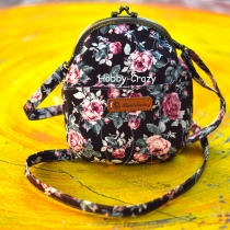 Vintage Rosy Mini Frame Bag at Blisby
