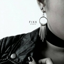FRINGE EARRINGS  at Blisby