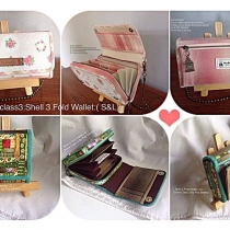 Onlineclass3:Shell 3 Fold Wallet(S&L) at Blisby