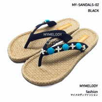 MY-SANDALS-07 ( BLACK ) at Blisby