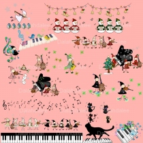 Music Digital Clip Art at Blisby