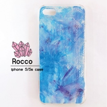iphone 5/5s/6/6s handmade case --frozen inspired-- at Blisby