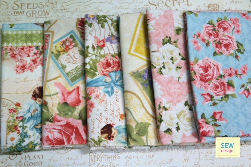 Secret Garden Fabric Collection large image 0 by SEWDESIGN