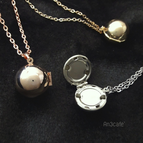 Lockets Ball Pinkgold large image 0 by An3Cafe