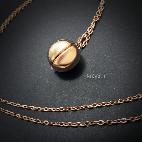 Lockets Ball Pinkgold large image 3 by An3Cafe