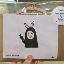 Embroidery Set - Chibi No Face at Blisby