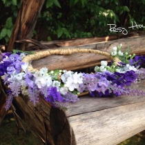 Sweet Lavender flower crown at Blisby