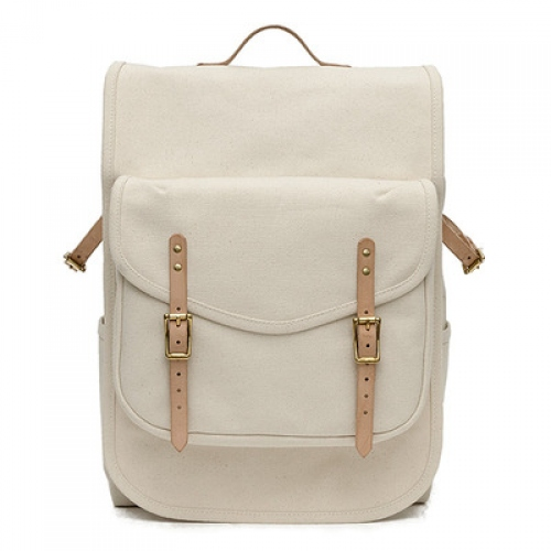 กระเป๋า Backpack : THE PACK- NATURAL large image 0 by CraftyDesign