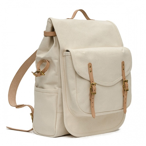 กระเป๋า Backpack : THE PACK- NATURAL large image 2 by CraftyDesign