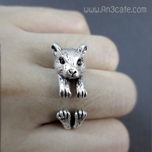 ANIMAL RING  (หมี/กระรอก/หนู) large image 0 by An3Cafe