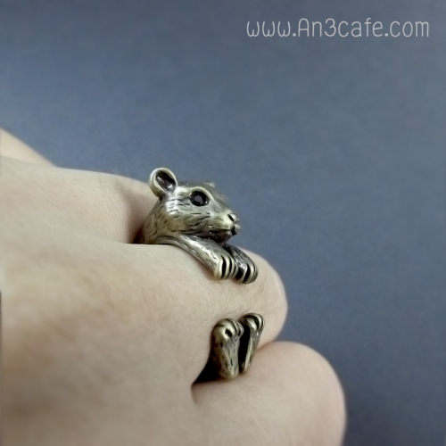 ANIMAL RING  (หมี/กระรอก/หนู) large image 2 by An3Cafe