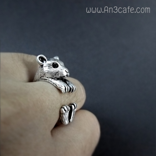 ANIMAL RING  (หมี/กระรอก/หนู) large image 3 by An3Cafe