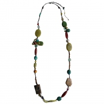 ราชาวดี(Rachawadee) Handmade Natural Stone Necklace at Blisby