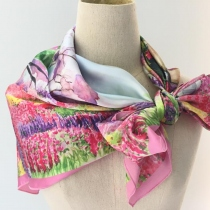 A Secret Garden Satin Scarf at Blisby