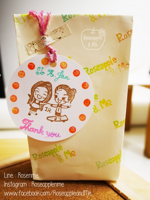 Couple Stamp ตราปั๊มคู่เลิฟๆๆๆ 4x5-5x6 cm (Made to order) large image 3 by RoseappleAndMe