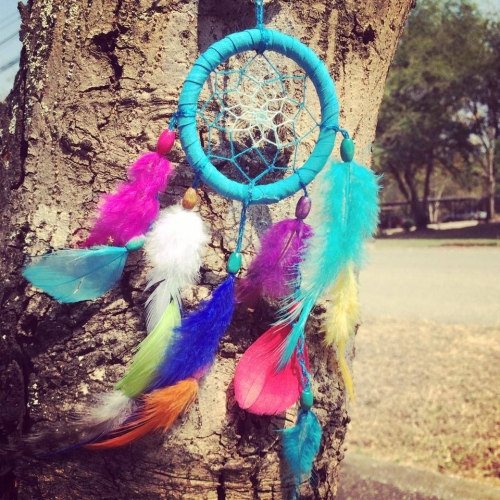Colorful Dream catcher chippe large image 1 by RromShop