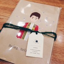 Handmade Notebook at Blisby