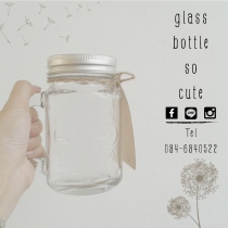แก้ว Mason Jar by glassbottlesocute