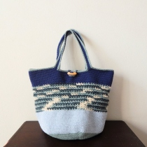 'The sea is calling' tote bag at Blisby