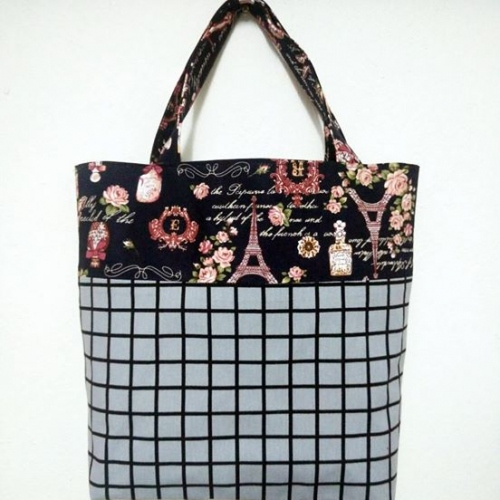 กระเป๋าถือ Tote large image 4 by Moonpolkadot