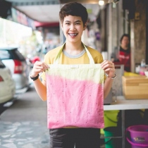Pastel Strawberry Bag at Blisby