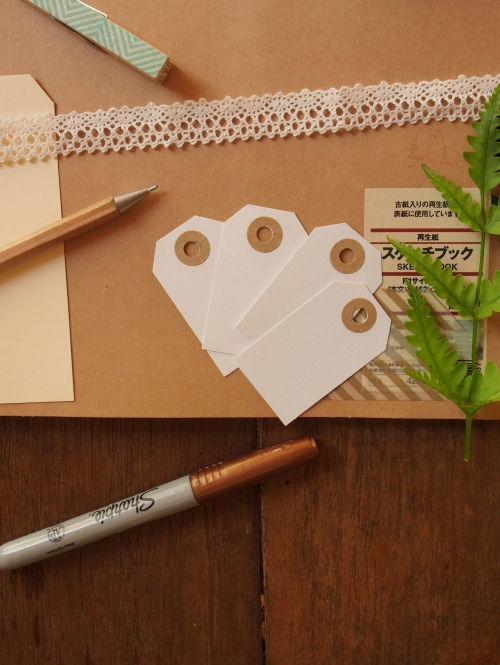Blank Paper Tag ป้ายห้อยเปล่า large image 0 by letterfromtheforest