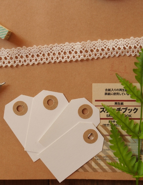 Blank Paper Tag ป้ายห้อยเปล่า large image 1 by letterfromtheforest