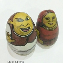 shrek & Fiona at Blisby